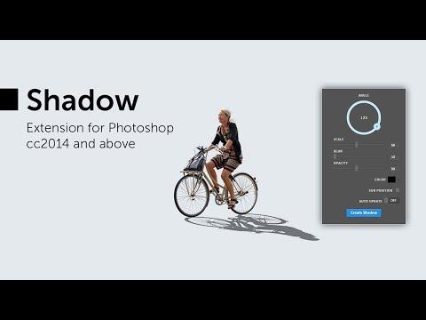 Shadow Photoshop Extension Tutorial
