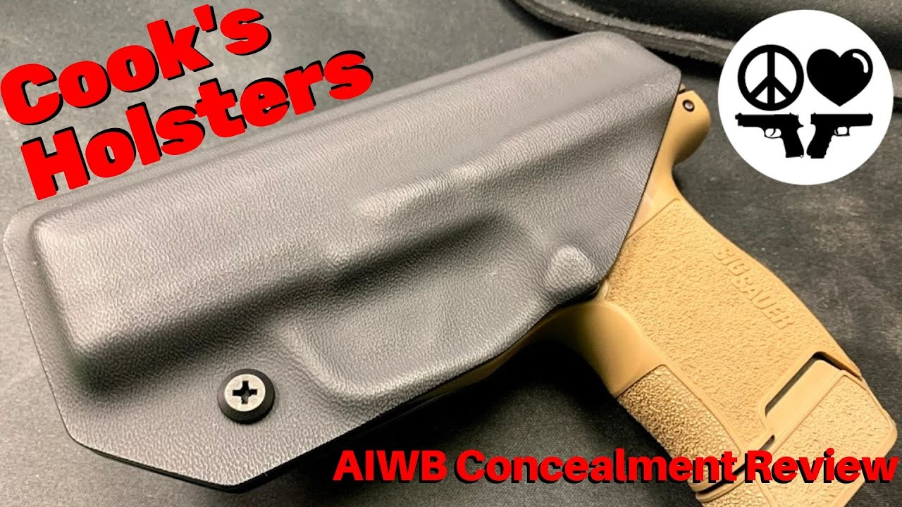Cook's Holsters Concealed Carry Kydex Pistol Holster for Sig P365