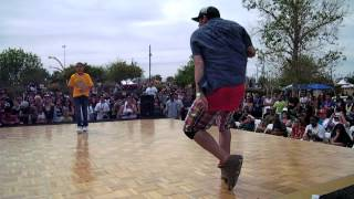 Ojos vs C-Bass| Top 8 Open Styles| My Fest '12| SxS Dance