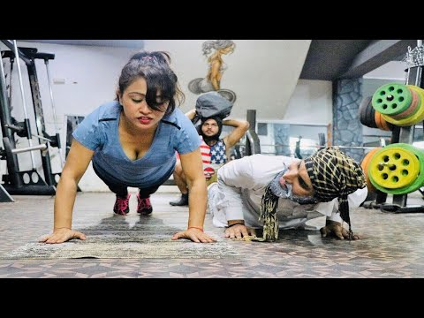 GYM में ताऊ ओर भतीजा    Funny Video 2018    Desi Comedy    HURRRH   