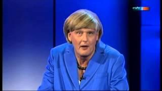 Reiner Kröhnert alias Angela Merkel