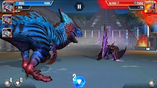 VALKYRIE 77 VS YUDON Jurassic World The Game Android Gameplay