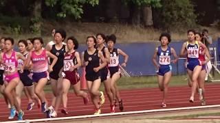平成29年度 第3回京都産業大学長距離競技会 女子1500m3組 2017.06.10 ...
