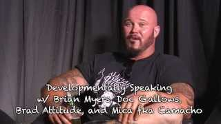 Doc Gallows on trying out for tough enough