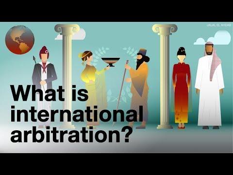 International arbitration explained to my grandma