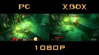 diablo 3 xbox 360 vs pc skeleton king comparison side by side