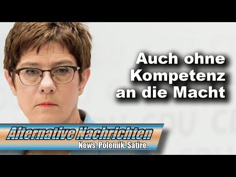 Annegret Kramp-Karrenbauer gesteht: Bin nur eine Quotenfrau (Top-Thema AN 442)