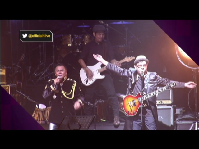 Konsert Zainal Abidin dan Headwind meriah