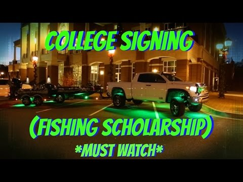 Fishing Scholarship ~ My Journey Begins (MUST WATCH) ~ Scad Fishing