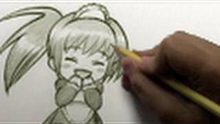 "How to Draw a ""Happy-Cute Chibi"" [HTD Video #4]"