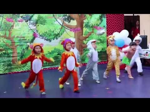 My Musical English/Theater - 1-2-3 Preschool - Jungle Book Recital