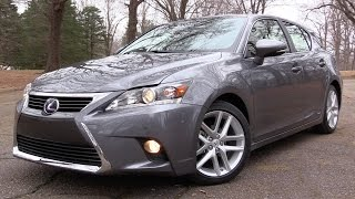 2017 Lexus CT200h: Road Test & In Depth Review