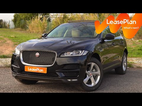 Jaguar F-PACE // Review LeasePlan 2019