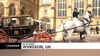 شاهد: زفاف الأميرة يوجيني حفيدة ملكة بريطانيا في قلعة وندسور…