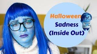 Tutorial Halloween Sadness din Inside Out   Laura Musuroaea