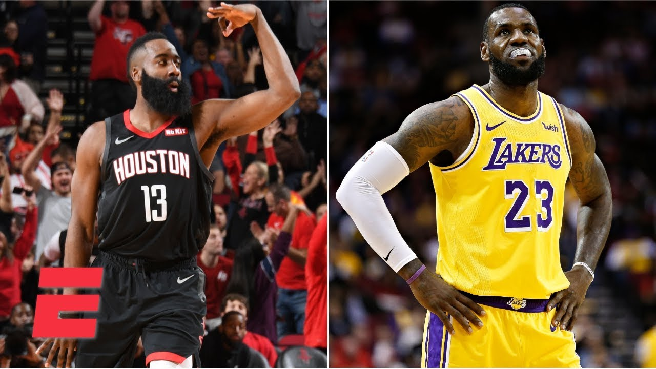 James Harden Goes For 50 In Rockets Win Lebron James