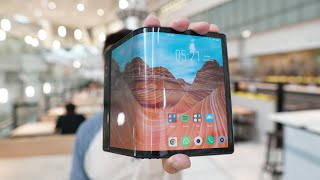 The First Foldable Phone Is Surprisingly Usable