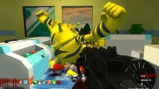 POKEMON ZOMBIES w/ GYM BATTLES!!! - CALL OF DUTY CUSTOM ZOMBIES GAMEPLAY! (WAW Zombies)