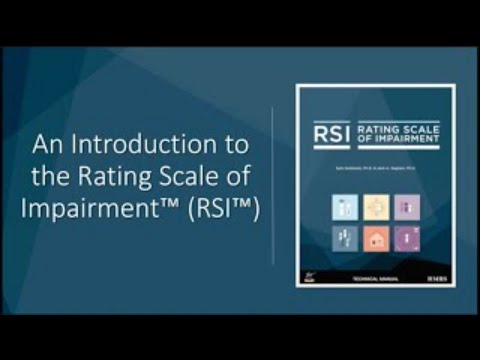 An Introduction to the Rating Scale of Impairment™