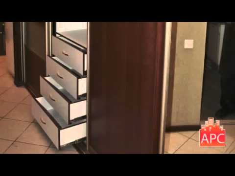 Шкаф купе в коридоре дизайн и идеи.