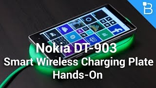 be gone wires nokia dt 903 wireless charging plate hands on