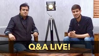 Dhruv Rathee with Abhisar Sharma | Youtube Live Q&A on Accidental Prime Minister and Congress