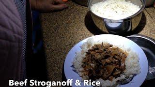 Beef stroganoff and Rice Dreampot cheekyricho Tutorial
