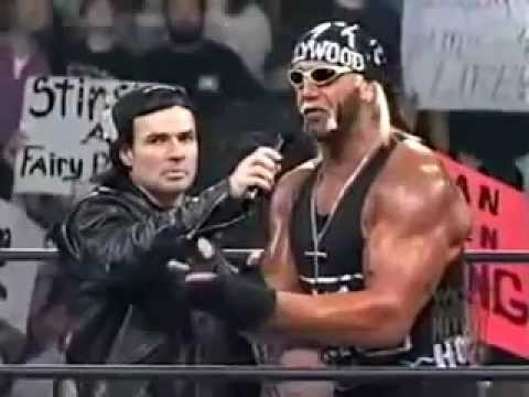 Hollywood Hogan confronts Randy Savage - WCW Monday Nitro - 2/23/98