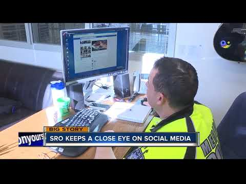 Mountain View High School SRO keeps a close eye on social media to keep kids safe
