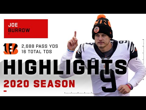 Joe Burrow's Incredible Rookie Season Highlights | NFL 2020