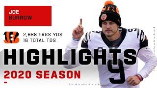 Joe Burrow's Incredible Rookie Season Highlights | NFL 2020
