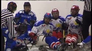 Rvačka / Sledge hockey fight (2)