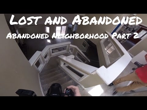Lost and Abandoned 2017- Abandoned Neighborhood- Cary, NC Part 2