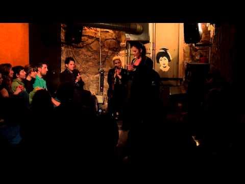 Flamenco show in a bar in Barcelona