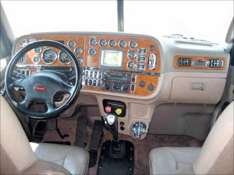 peterbilt truck interior 1 youtube