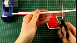 [KEREN] TUTORIAL!  Cara Membuat Pistol Mainan Dari Barang Bekas
