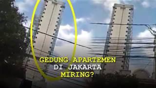 Gempa Dahsyat, Gedung Apartemen di Jakarta Miring?