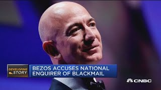 Jim Cramer: Don't sell Amazon shares over Bezos-Enquirer story