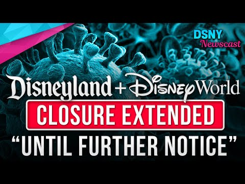 "Disney Parks CLOSED ""UNTIL FURTHER NOTICE"" Due To COVID-19 (Coronavirus)  - Disney News - 3/28/20"