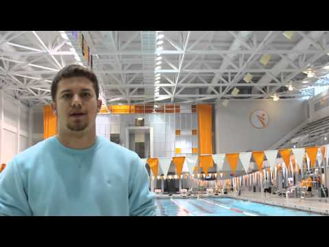 Swimming and academics at the University of Tennessee