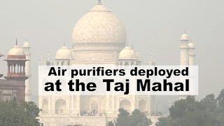 Air Purifier Vans Deployed At The Taj Mahal To Curb Pollution