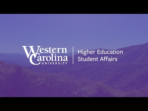 WCU's Higher Education Student Affairs Master's Program