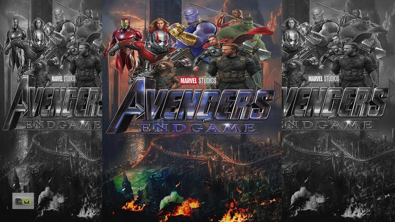 Photoshop Tutorial How To Make Avengers 4 Endgame Movie Poster