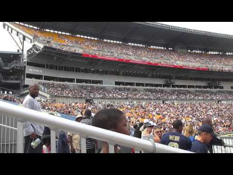 2014 Heinz Field  Pitt Panthers LED PGT Trucking  and 93 7 the Fan