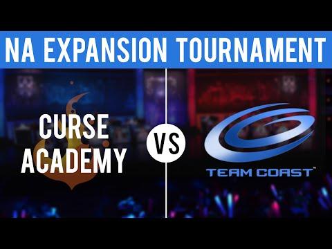 CA vs CST - Game 2   NA Expansion Tournament, Semifinals   Team Curse Academy vs Team Coast