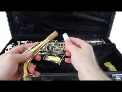 Saxophone - How to Use Cork Grease