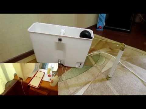 Установка поплавкового клапана в наливной водонагреватель для дачи