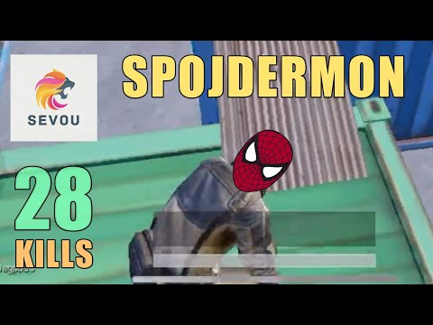 Spider-Man Of PUBG Mobile | 28 KILLS | SOLO SQUAD