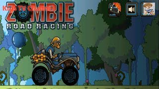 Zombie Road Racing - Zombie Games | Zombie Road Racing Game | Car Zombie Games | Kids TV Channel