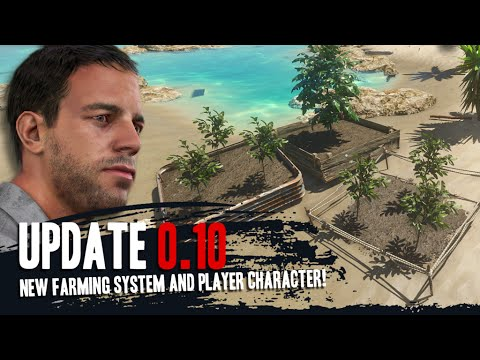 Stranded Deep 0.10 - Farming System & Player Character - #11